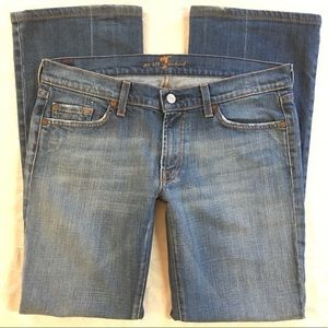 7 For All Mankind Women's Bootcut Jeans 32x29